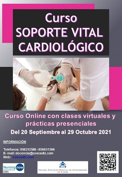 Curso Soporte Vital Avanzado Cardiológico septiembre 21